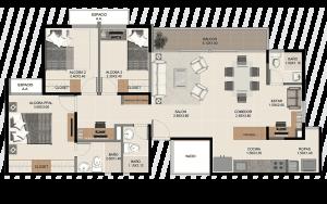 Visita nuestra sala de ventas y apartamento modelo.