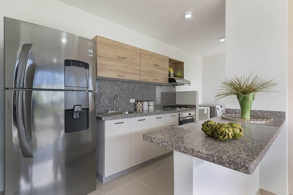 Neos Alameda - Apartamento Modelo - Cocina
