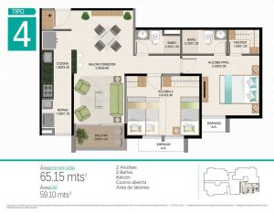 Cotiza tu sueño de tener apartamento nuevo.