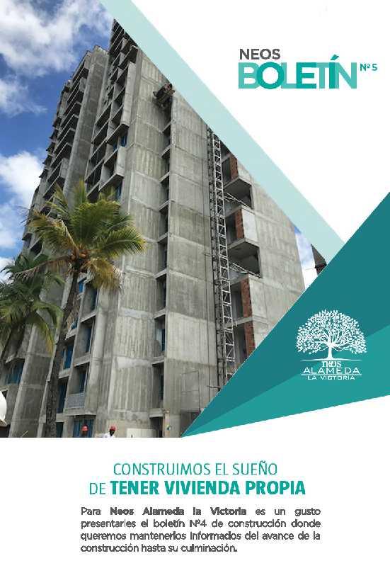 Neos Alameda - Boletin Cinco - pagina uno