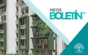 Neos Alameda inició el proceso de construcción de sus apartamentos en Cartagena en junio de 2016.