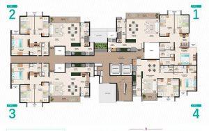 Un nuevo comienzo para tu familia, tenemos 4 tipos de apartamento, cotiza el tuyo. Disfruta de Sala de cine, Piscina, Jacuzzi, Solárium en Neos Alameda.