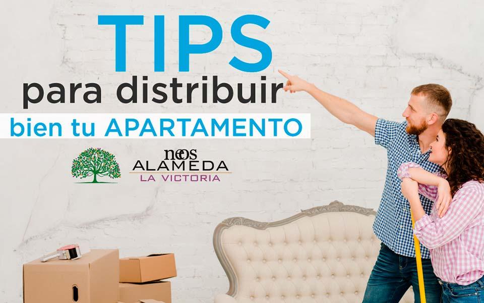 TIPS para distribuir bien tu apartamento