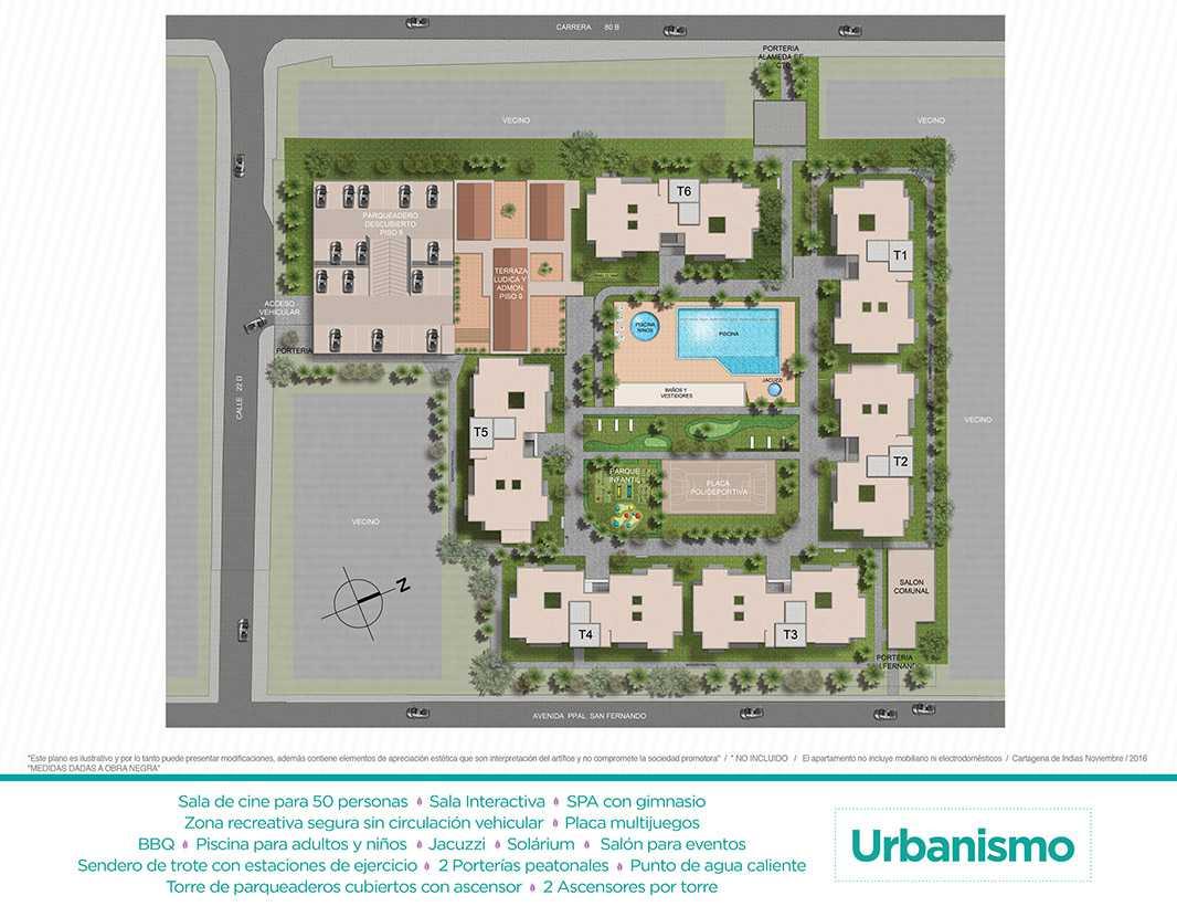 Neos Alameda - Urbanismo